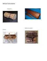 African Instruments.docx