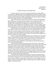 weight lifting vs strength training.docx