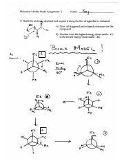 Alkanes - Newman Projections A