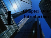 Ch 1 Introduction