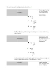 chap 2 - The correct answer for each question is indicated by a ...