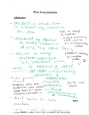 Class Notes on Formats of Instructions
