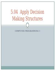 504_Decision_Making_Structures.pptx