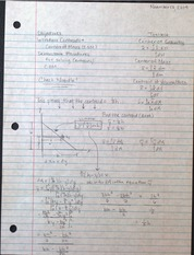 EG201 Centroids and Centers of Mass Notes