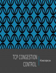 Congestion Control
