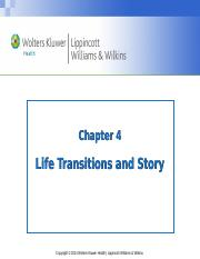 Chapter 4 Life Transition and Story(1).ppt