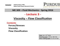 Lecture 3 - Viscosity  instructor class