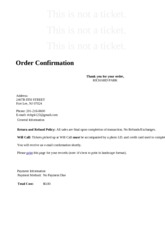 Rutgers University _ Online Ticket Office _ Thank You For Your Order