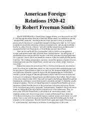 8.1 American Foreign Relations 1920-41.doc