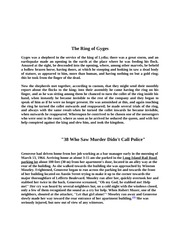 The Ring of Gynes notes