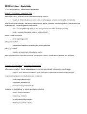 _SCMT 3643 online Exam 1 Lesson 3 Study Guide (1)