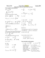 Exam3_2009Spr_Solutions