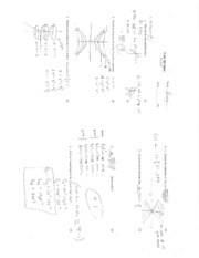 Calc III Test and Quizes (Shaw)