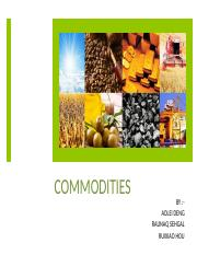 COMMODITIES- Group 3.pptx