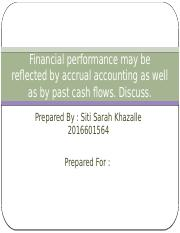 Financial performance may be reflected by accrual accounting.pptx