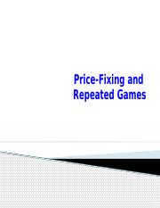 Price Fixing and Repeated Games-6