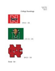 College Standings