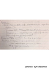 Ideal Gases Lecture Notes