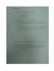 Problems and Assignment 3 solutions