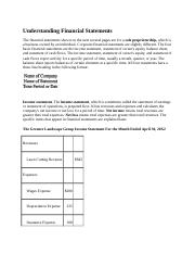 Understanding Financial Statements.docx