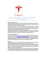 Assign 4-1004- TESLA - SUPPLY CHAIN.docx