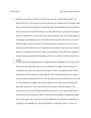 Law Take Home Essay Response.docx