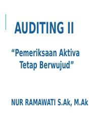 AUDITING II NR 5.ppt