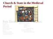 Lecture 19-State&ChurchMedieval