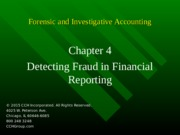 7Ed_CCH_Forensic_Investigative_Accounting_Ch04.ppt.879dpg6.partial