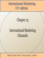 Student_International_Marketing_15th_Edition_Chapter_15.ppt