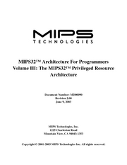 mips32-privarch