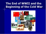 US II 7th Collins Cold War Powerpoint