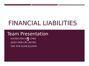 Financial Liabilities_Sem Grp 3_Presentation Group 5Amended