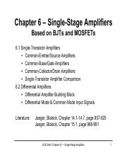 Chapter61_SingleTransAmplifier