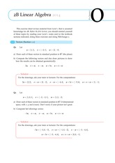 Answers to 2B Linear Algebra Exercise Sheet 0 (Solutions)