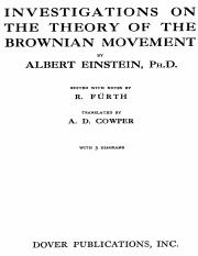 Einstein Albert - Brownian Movement (dover 1956).pdf