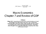 Economics Chapter 7 Summer 2013