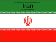 Econ Development - Iran Presentation