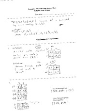 e109 Fall 2001 2003 2005 final exam solutions