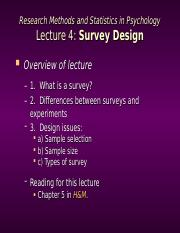 Research Methods Lecture 4.ppt
