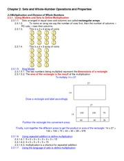 Lecture Notes on Multiplication and Divitions