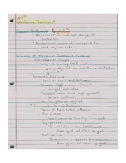 Chpater 11 Notes