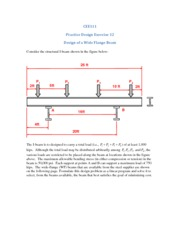 PDE13_Wide_Flange_Beam_Design