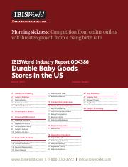 OD4386 Durable Baby Goods Stores Industry Report
