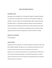 archimedes principle report