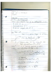 MATH 112 Theory of Differentials Notes
