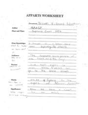 Intro to Spanish Apparts worksheet
