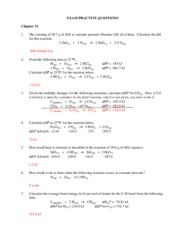 Chap 15 practice problems answers