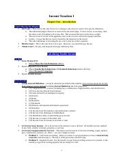 Tax Outline I.doc