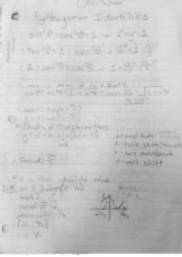 Pythagorean Identities and Graphing Trig Functions